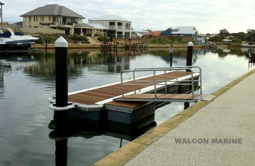 Residential Jetty by Walcon Marine