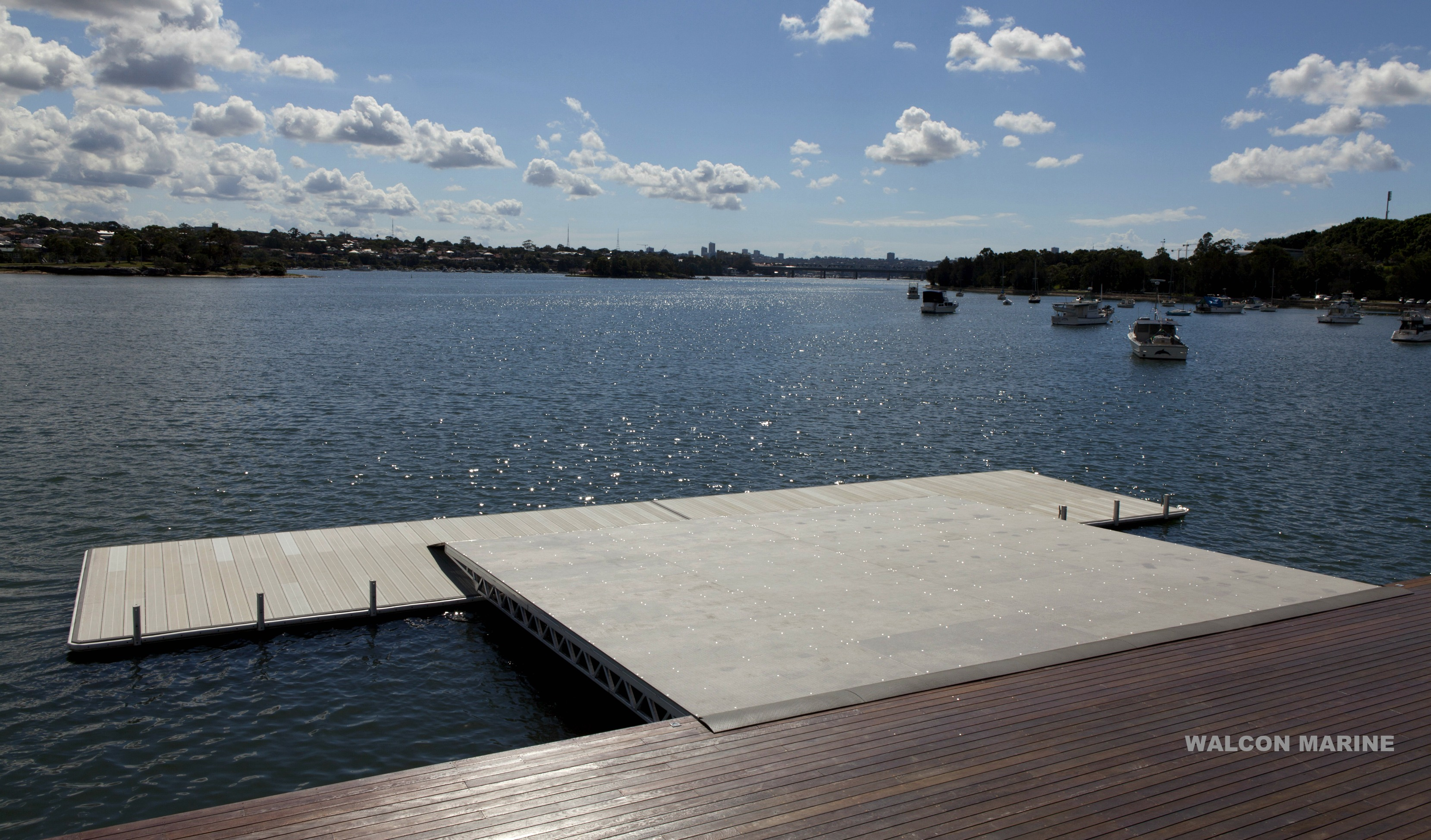 UTS Boat Ramp / Launching pontoon