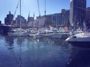 The beautiful view from Walcon Marines stand Photo Credit: Walcon Marine Australasia