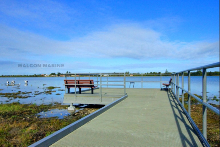 Lake Richmond Boardwalk Rockingham WA, by Walcon Marine Australasia